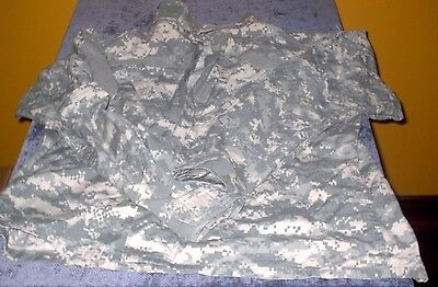 MILITARY ISSUE DIGITAL CAMO U.S. ARMY BDU SHIRT JACKET HUNTING VTG