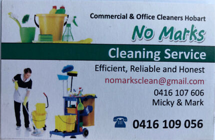 No Marks Cleaners
