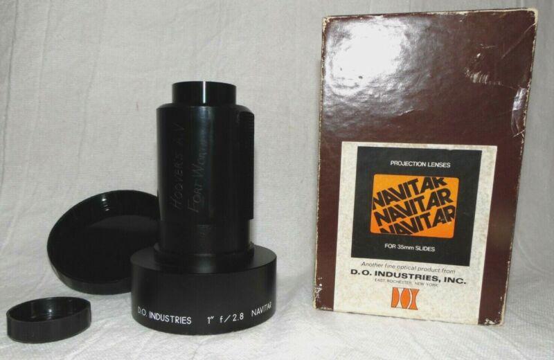 "Navitar Lens 1"" f/2.8 D.O. Industries for 35mm slides Projection Lens"