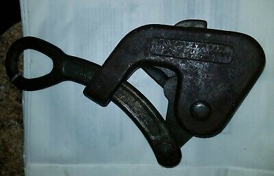 Nice Rare Vintage Crescent Tool No. 385 Cable Wire Grip Puller 38-34 10000 Lb