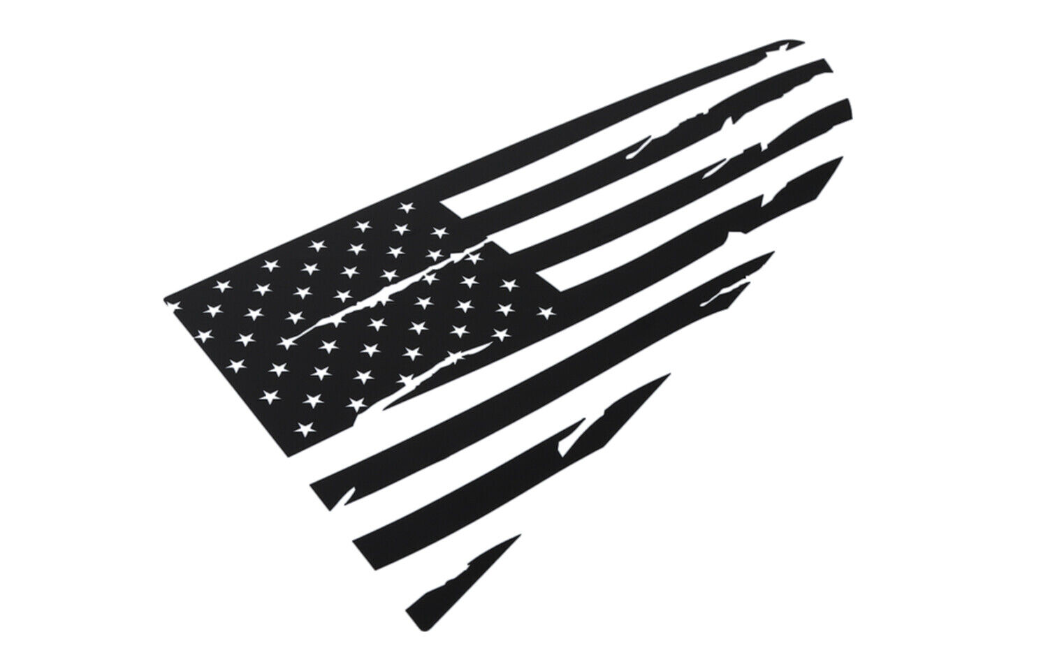 American Flag Rear Quarter Window Decals Stickers For Ford