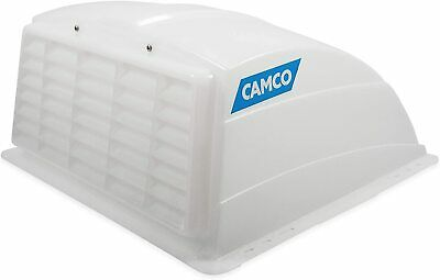 Camco 21014 Roof Vent Cover Allows An Exhaust Fan To Operate Rain Or Shine