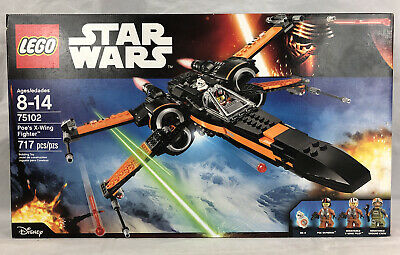 New Sealed LEGO Star Wars Set # 75102 Poe's X-Wing Fighter Retired 2015