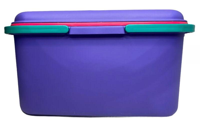 Craftstor Storage Sewing Craft Tote - Large Purple - EUC