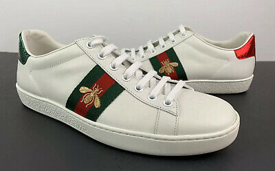 Gucci New Ace Bee Low Top Sneaker Women's Shoes Size 38.5 / -
