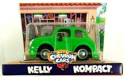 Kelly Kompact The Chevron Cars Vintage NEW IN BOX Doors Open Push and Eyes Roll