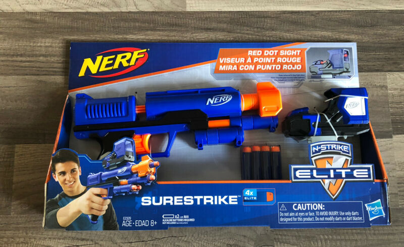 Hasbro Nerf N Strike Surestrike 4X Elite Red Dot Sight Age 8 Years & Up
