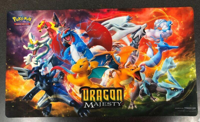 Pokémon Official Dragon Majesty Playmat For Card Game TCG CCG Charizard Lugia