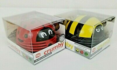 Crumby Mini Vacuum Buzzing Bumble Bee And Ladybug Fun Novelty As Seen On TV NEW](Bee Buzzing)
