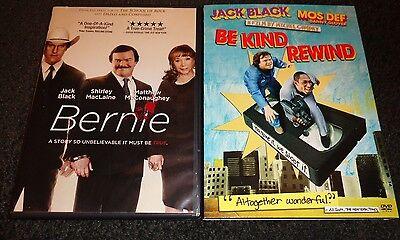 BERNIE & BE KIND REWIND-2 movies-JACK BLACK, MATTHEW McCONAUGHEY, MOS - Be Kind Rewind Jack Black