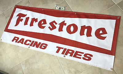 FIRESTONE  Garage Banner Sign (Large 2'x5')