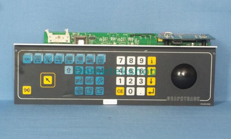 Netstal Graphtrack 110.240.9366 Controls panel for Netstal injection molder