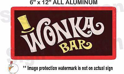 funny sign willy wonka wall decor wonka bar movie prop chocolate - Bar Wall Decor