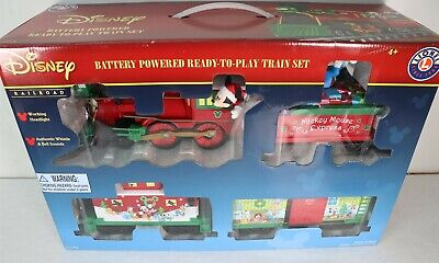 Lionel Mickey Mouse Express Disney Ready to Play Christmas Train Set 7-11773 New