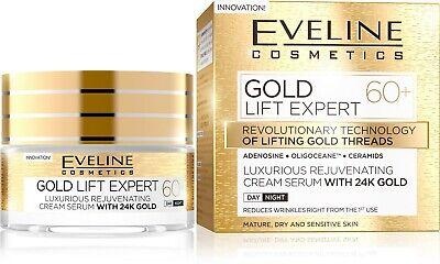 Rejuvenating Lift (Gold Lift Expert Rejuvenating Firming Cream Serum with 24k Gold 60+ )