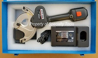 Huskie Rec-54ac Battery Operated 14.4v Robo Wire Cutter Cable Cutting Tool
