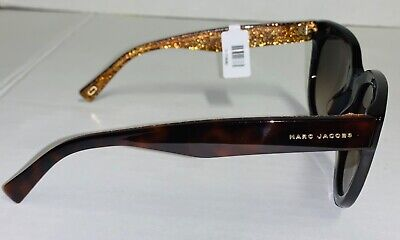 New Women Marc Jacobs MARC 233/S Brown Glitter Sunglasses DXHHA 51-24-145 V (Marc Jacobs Butterfly Sunglasses)