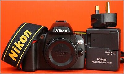 Nikon D40x DSLR Camera Body -  sold with Battery, Charger 5,301 Shots Taken