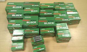 Hiwin Linear Rail Guide Block / Carriage - HGL 15 CA ZOH - Genuine Hiwin Product