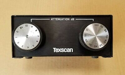 Texscan Bma-550 Bench Attenuator 0110db In 1db Step.
