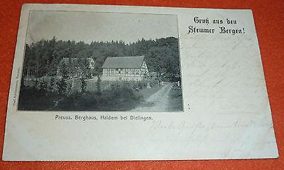 Gruss aus Haldem bei Dielingen Berghaus Stemmer Berge 1904 Stemweder Berg