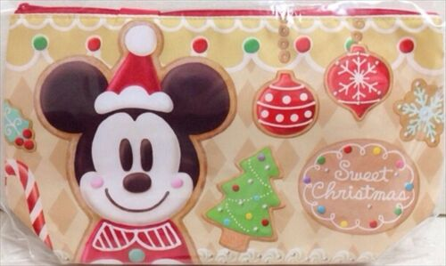 Tokyo Disney Resort Gingerbread Christmas Mickey Minnie Souvenir Lunch Case Bag