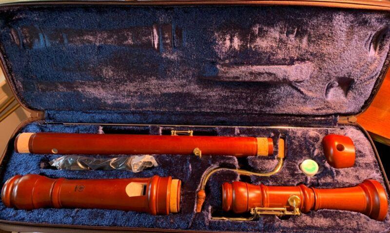 Yamaha Bass Recorder - Wood - Baroque