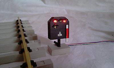 Spur G / Spur 2   Lichtsperrsignal (niedrigstehend) / Hv-System DB  Hp0 / Sh1