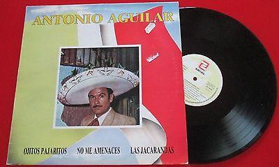 "ANTONIO AGUILAR ""Same"" ORIGINAL 1990 Spain LP VICENTE FERNANDEZ Pedro Vargas"