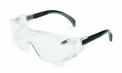 Stylish Cover2 XL OTG Fit Over RX glasses-Clear Lens Safety Glasses-Best