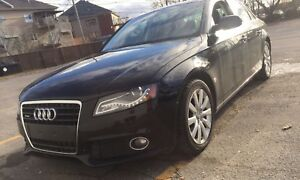 2011 Audi A4 Quattro 2.0 turbo automatic fully loaded.