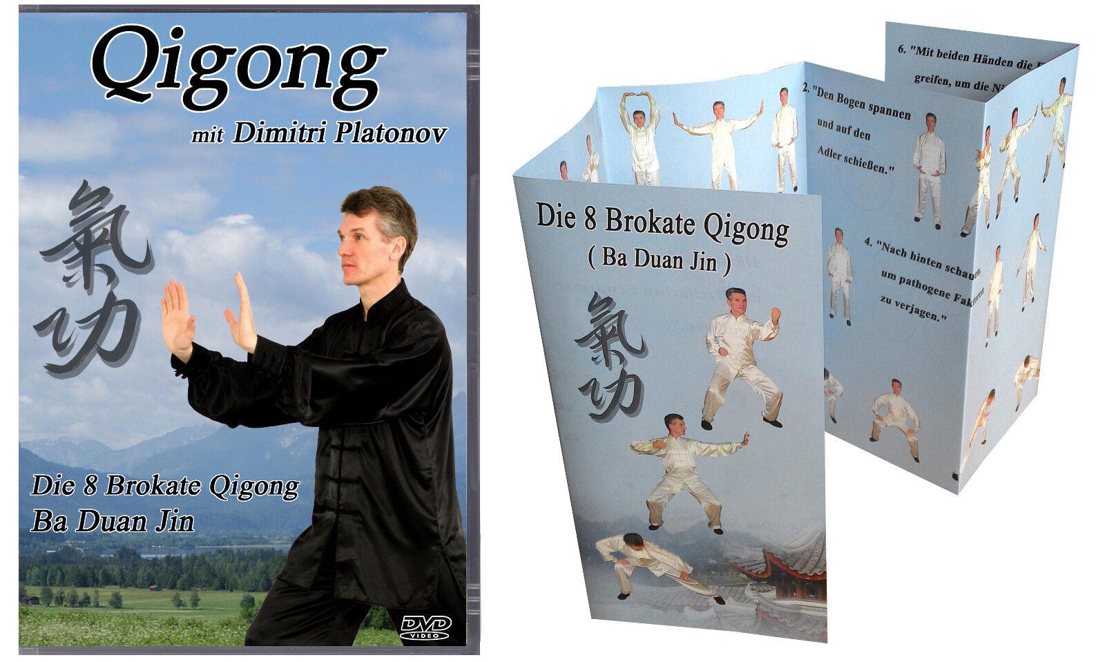 Die 8 Brokate Qigong Ba Duan Jin Die acht Brokatübungen 8 Brokat Übungen DVD