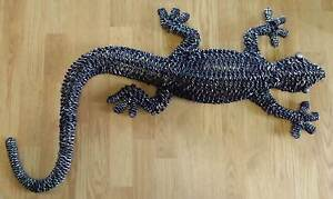 ROPE GECKO SCULPTURE LARGE 93CM L BY 40CM W NEW Merriwa Wanneroo Area Preview
