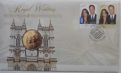 Australia 2011 Royal Wedding William and Catherine inc 50 Coin  50c PNC