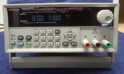 Tektronix Pws4305 Programmable Dc Power Supply 30 V 5 A Usb