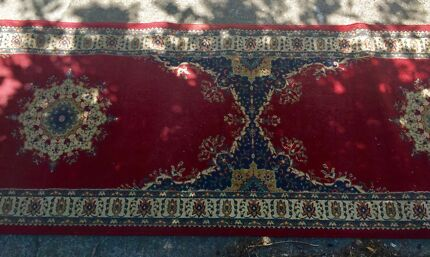 Turkish hall runner rug (woollen)