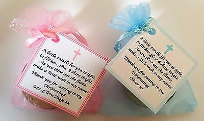 1-100 CHRISTENING, BAPTISM, FIRST HOLY COMMUNION CANDLE FAVOURS GIFTS -