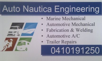 Marine Mechanic. Automotive, Forklift & Plant Mechanical. Mona Vale Pittwater Area Preview