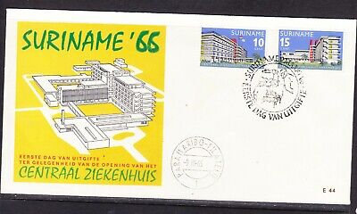 Suriname 1966 General Hospital First Day Cover E44