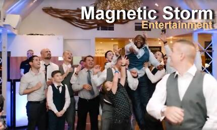 Magnetic Storm Entertainment  - Perth Wedding DJ & MC services