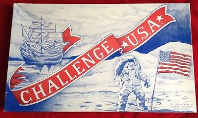 Challenge USA Board Game - Educational American History Geography Trivia Skelton