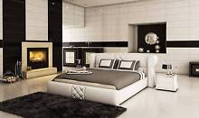 Stunning Collection of fully genuine Leather Bed in King Queen Malaga Swan Area Preview