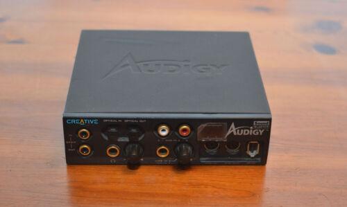 Creative Labs Audigy Sound Blaster SB0110 External Box
