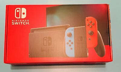 Nintendo Switch 32GB Console V2 with Neon Blue Red Joy-Con Brand New SHIPS FAST
