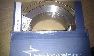 Schweißdraht Edelstahl böhler welding v4a Thermanit A Si -1.0mm K300-15 Kg