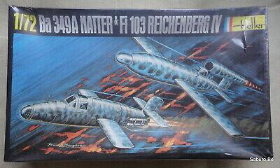 HELLER 1/72 BA 349 A Natter Fi 103 Reichenberg