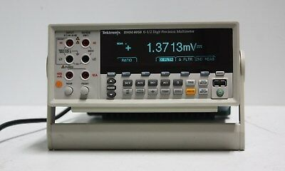 Tektronix Dmm-4050 6-12 Digit Multimeters