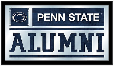 "Penn State Nittany Lions Holland Bar Stool Co. Alumni Mirror (26"" x 15"")"