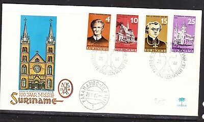 Suriname 1966 Redemption Mission  First Day Cover E45