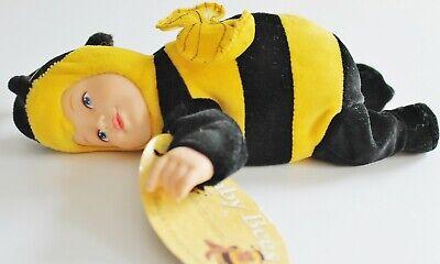 ♥ ANNE GEDDES Baby Bees Biene Puppe ~20cm Baby im Tierkostüm - Anne Geddes Baby Kostüm